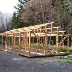 飼育小屋作り その2